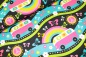 "Mobile Preview: Bio-Jersey SHALMIAK ""HIPPIE DAY candy"""