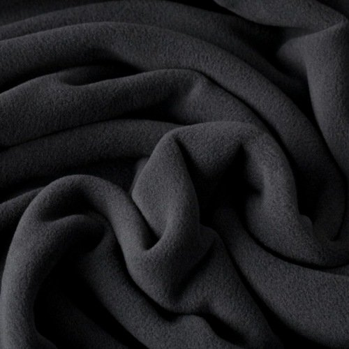 "ultraweicher Fleece ""Sarnen"" - Mircofleece, Thermo-Fleece ***Pil-Hot** - anthrazit"
